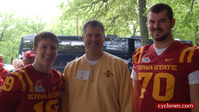 Dubuque Tailgate Tour Stop Complete - Iowa State University