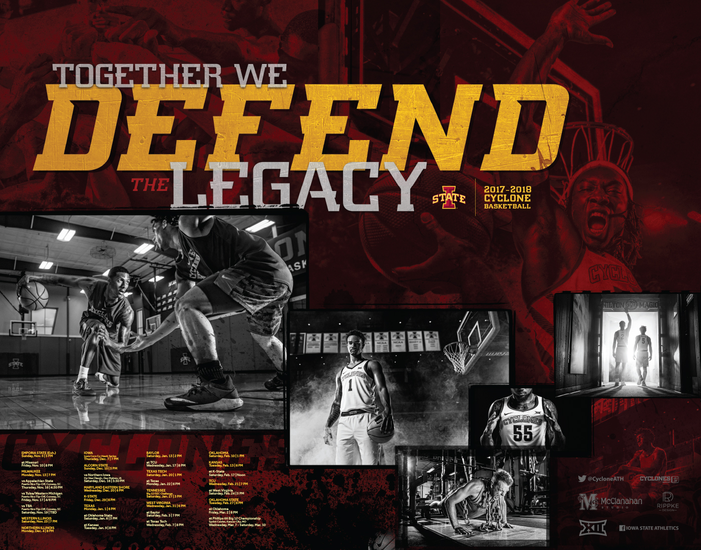Posters and Schedule Cards   Iowa State University Athletics