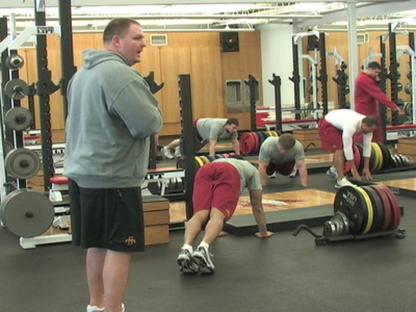Video: McKnight Talks Strength and Conditioning - Iowa State