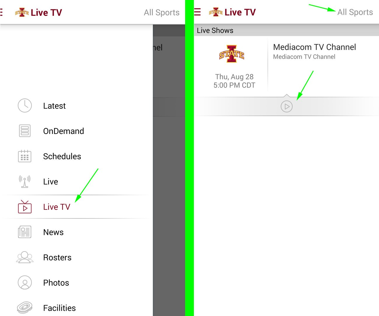 Cyclones tv TV Channel To Go Online - Iowa State University