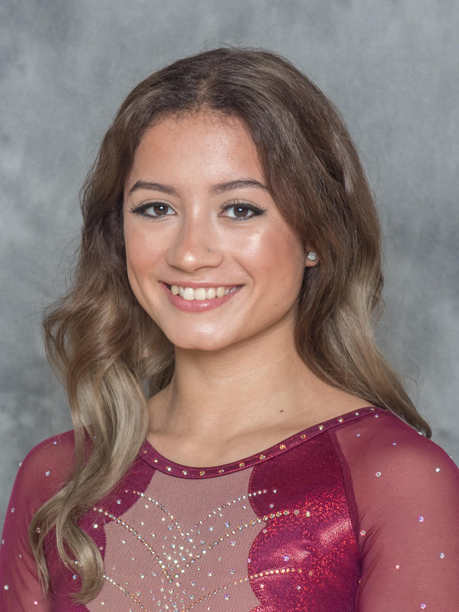 Andrea Ros andrea maldonado - gymnastics - iowa state university athletics